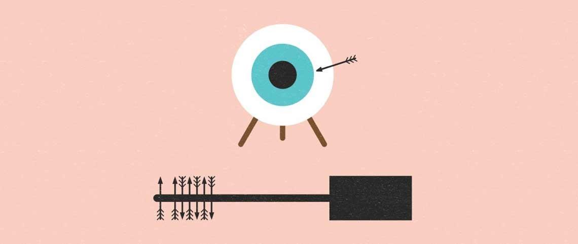 Mascara er en av de støste årsakene til småskader på øyet.