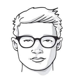 Briller til firkantet ansikt